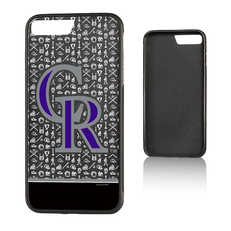 Colorado Rockies iPhone 7 Plus/8 Plus Stripe Bump Case