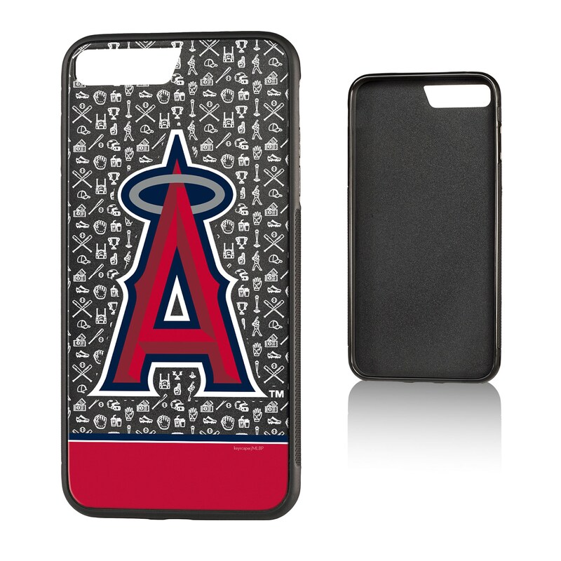 Los Angeles Angels iPhone 7 Plus/8 Plus Stripe Bump Case