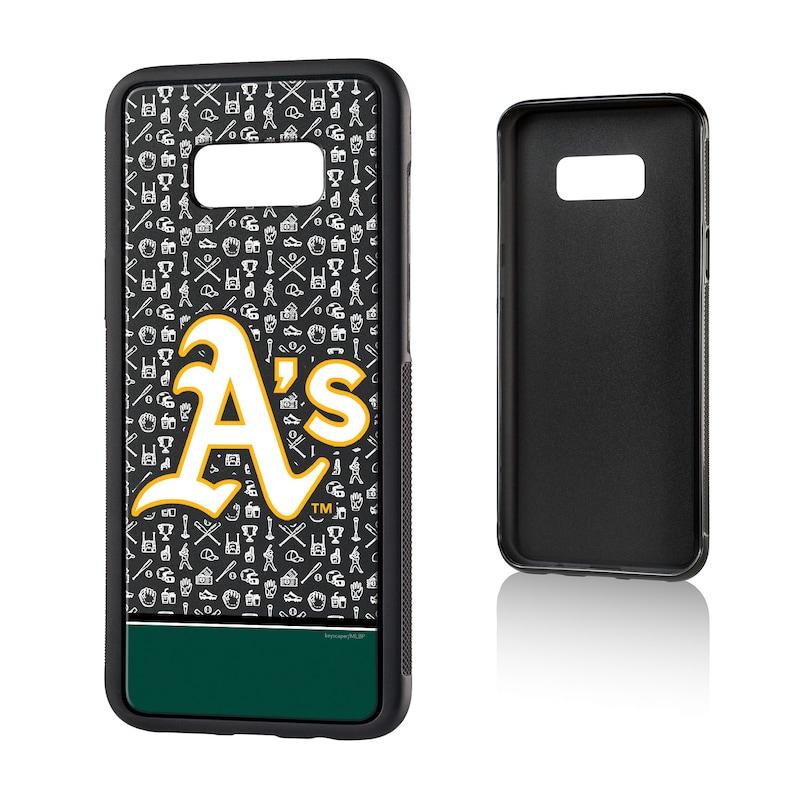 Oakland Athletics Galaxy S8 Plus Stripe Logo Bump Case