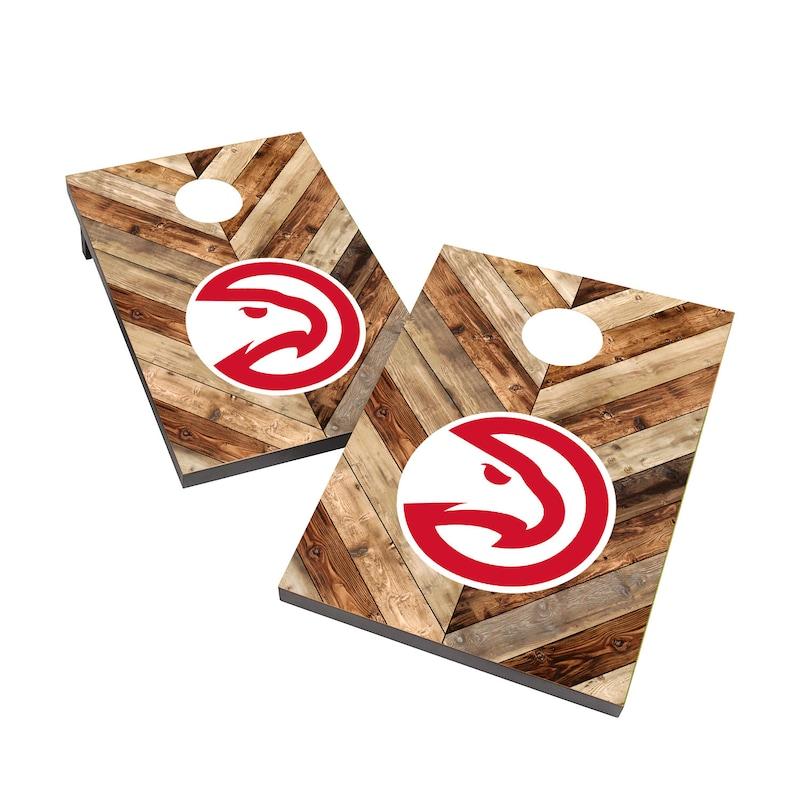 Atlanta Hawks 2' x 3' Cornhole Board Tailgate Toss Set