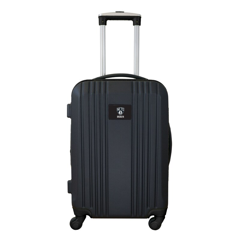 """Brooklyn Nets 21"""" Hardcase Two-Tone Spinner Carry-On - Black"""