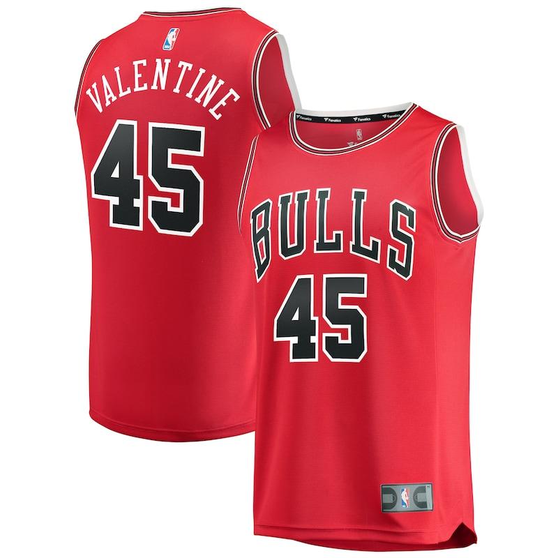 Chicago Bulls Denzel Valentine Fanatics Branded Youth Fast Break Player Jersey - Icon Edition - Red