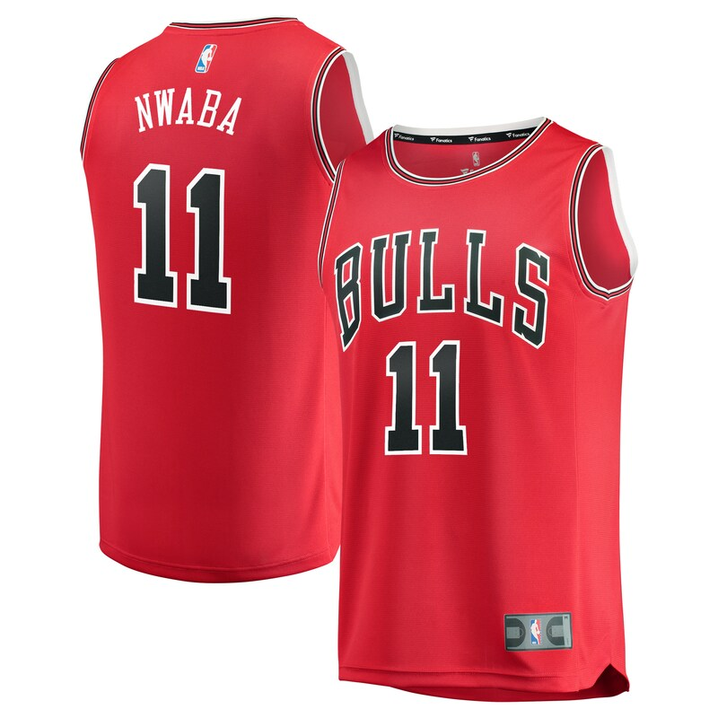 Chicago Bulls David Nwaba Fanatics Branded Youth Fast Break Player Jersey - Icon Edition - Red