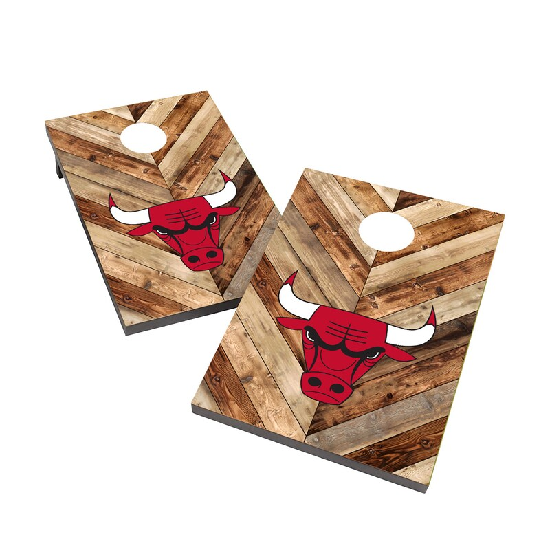 Chicago Bulls 2' x 3' Cornhole Board Tailgate Toss Set