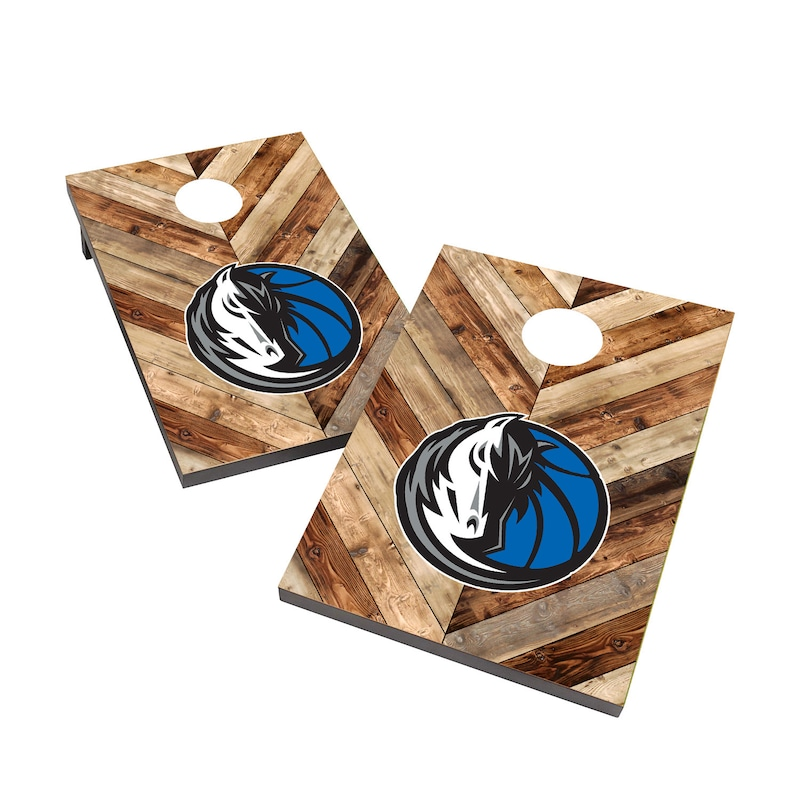 Dallas Mavericks 2' x 3' Cornhole Board Tailgate Toss Set