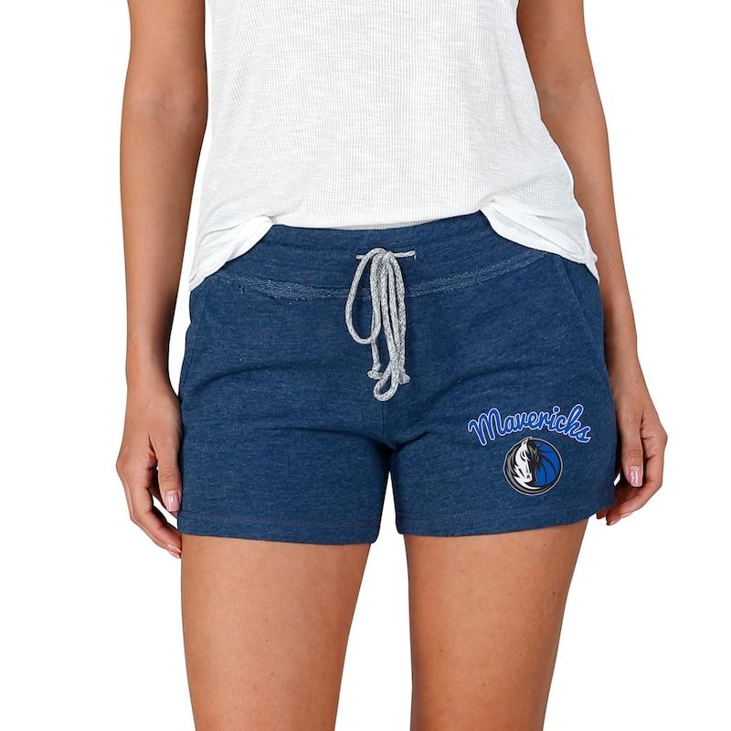 Dallas Mavericks Concepts Sport Women's Mainstream Terry Shorts - Navy