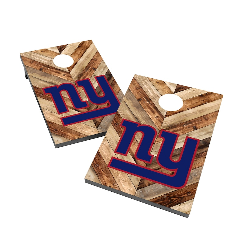 New York Giants 2' x 3' Cornhole Board Tailgate Toss Game