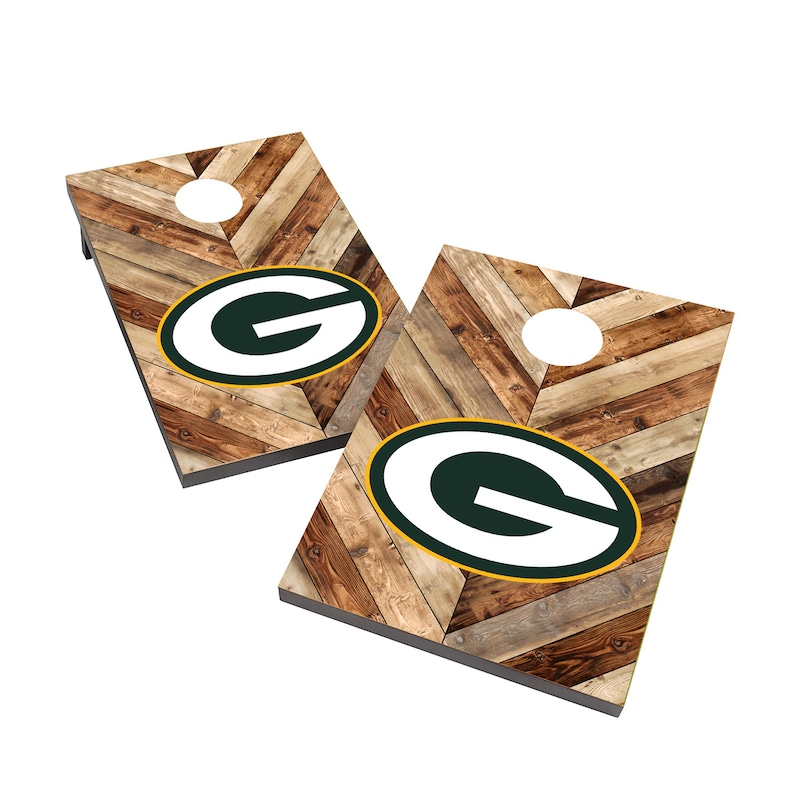 Green Bay Packers 2' x 3' Cornhole Board Tailgate Toss Game
