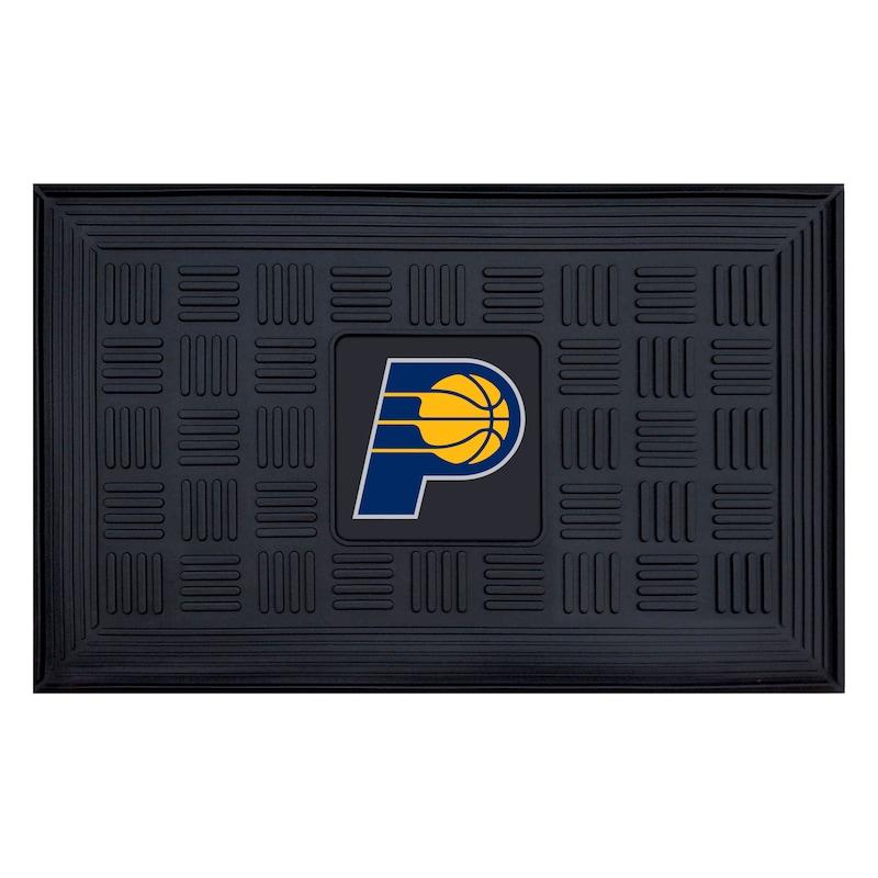 """Indiana Pacers 19.5"""" x 31.25"""" Medallion Door Mat"""