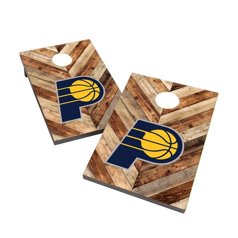 Indiana Pacers 2' x 3' Cornhole Board Tailgate Toss Set