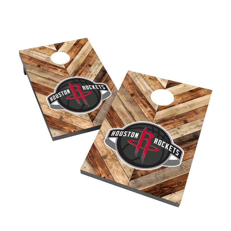 Houston Rockets 2' x 3' Cornhole Board Tailgate Toss Set
