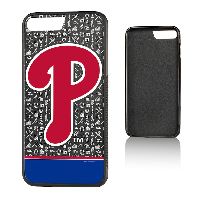 Philadelphia Phillies iPhone 7 Plus/8 Plus Stripe Bump Case