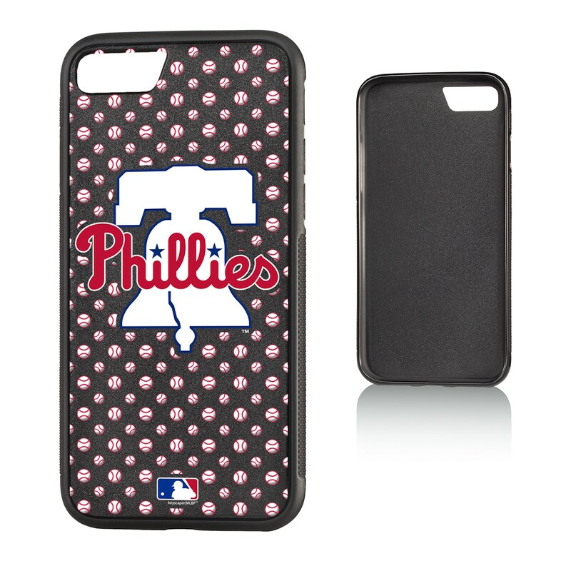 Philadelphia Phillies Galaxy S8 Plus Baseball Bump Case