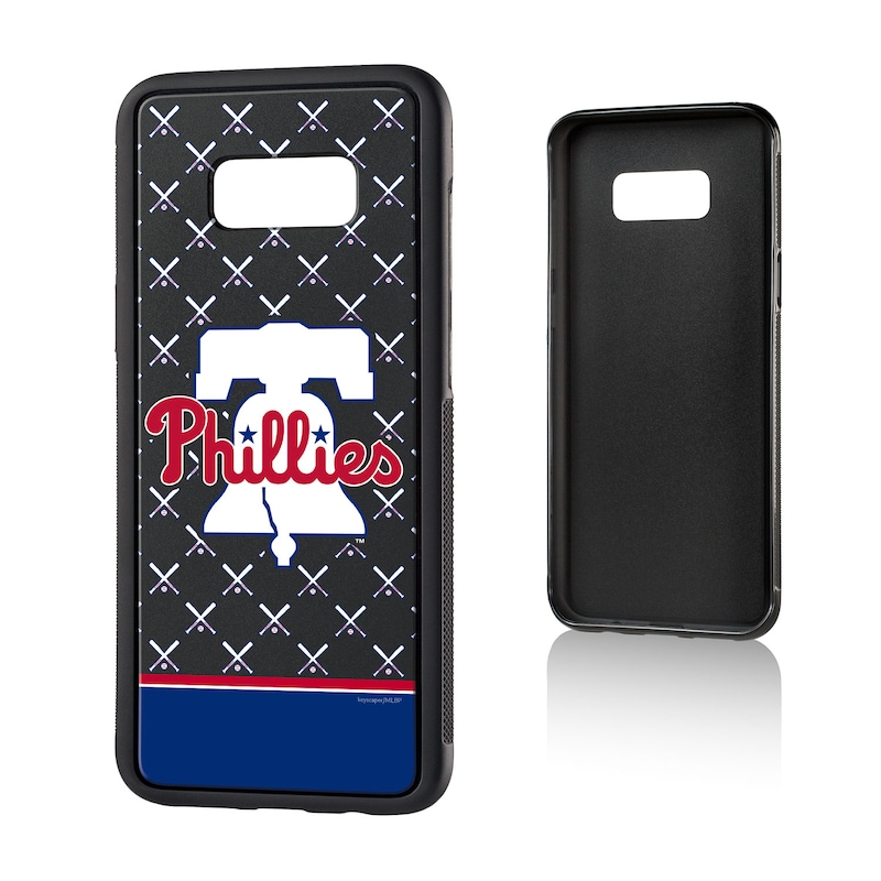Philadelphia Phillies Galaxy S8 Plus Stripe Logo Bump Case