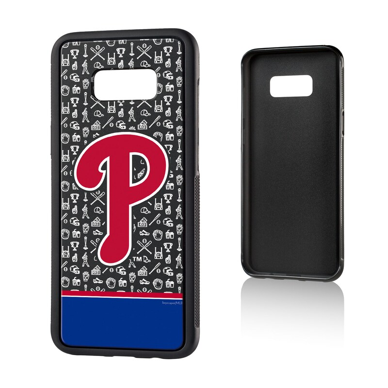 Philadelphia Phillies Galaxy S8 Plus Stripe Bump Case