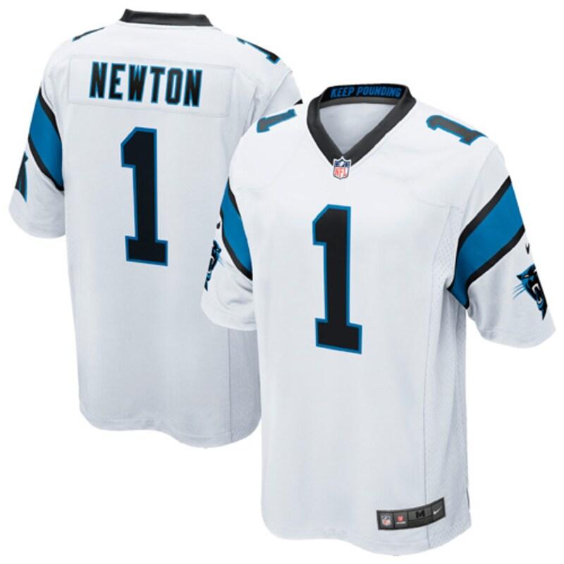 Cam Newton Carolina Panthers Nike Youth Game Jersey - White