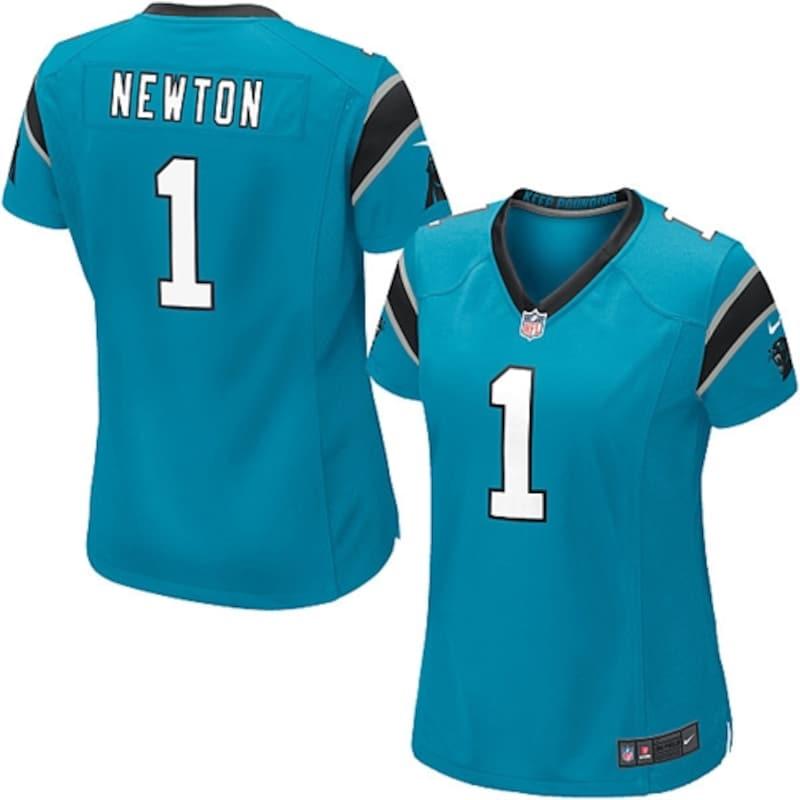 Cam Newton Carolina Panthers Nike Women's Game Jersey - Panther Blue