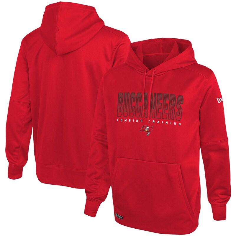 Tampa Bay Buccaneers New Era Combine Team Pride Pullover Hoodie - Red