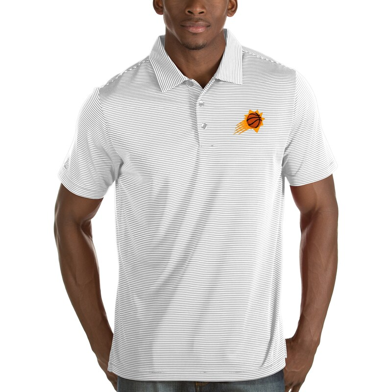 Phoenix Suns Antigua Quest Polo - White