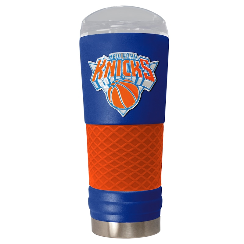 New York Knicks 24oz. Powder Coated Draft Travel Mug - Blue