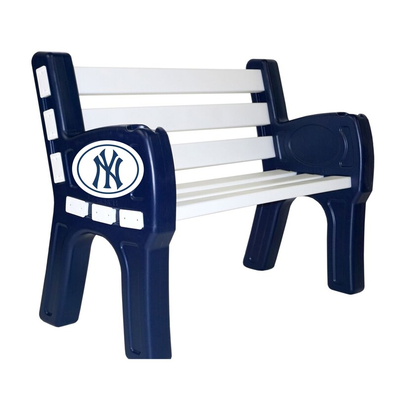New York Yankees Park Bench