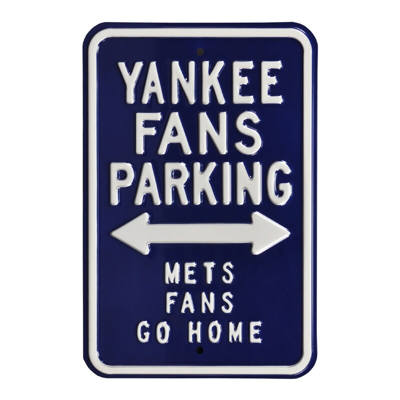 "New York Yankees 12"" x 18"" Steel Parking Sign"