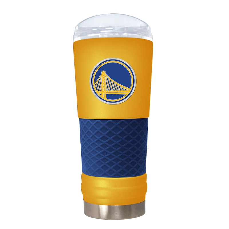 Golden State Warriors 24oz. Powder Coated Draft Travel Mug - Yellow