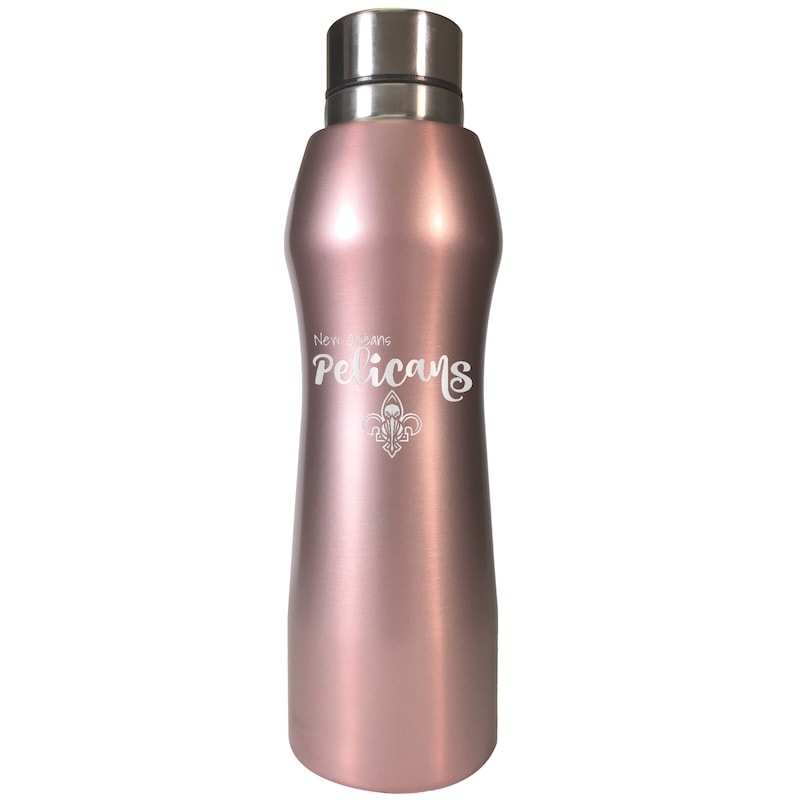 New Orleans Pelicans 20oz. Rose Gold Hydration Bottle