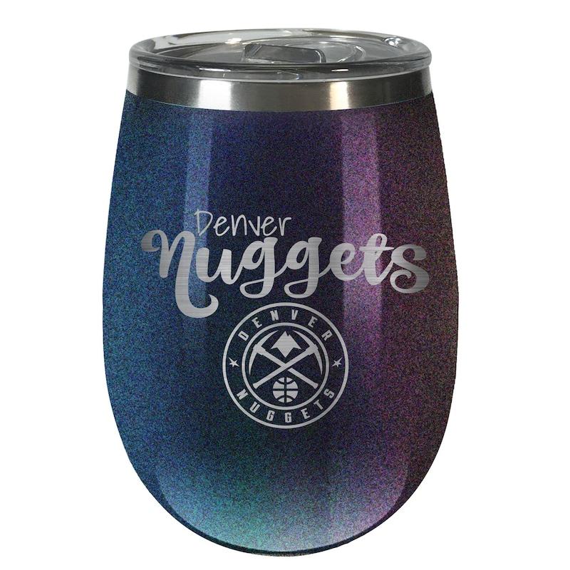 Denver Nuggets 12oz. Onyx Wine Tumbler