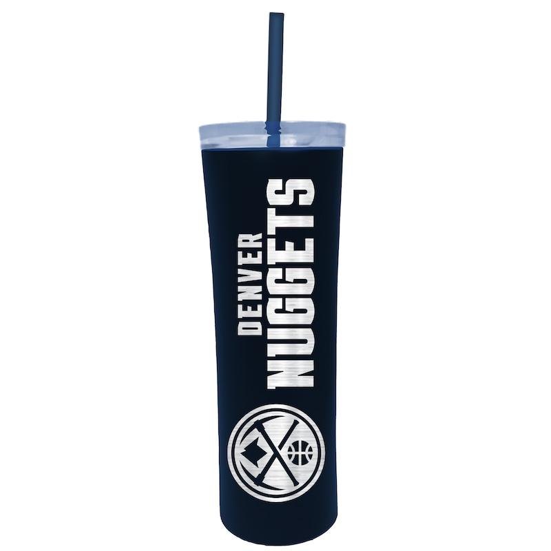 Denver Nuggets 18oz. Team Colored Skinny Tumbler