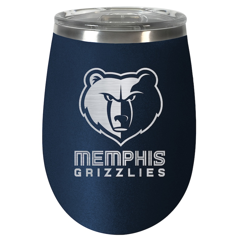 Memphis Grizzlies 12oz. Team Colored Wine Tumbler