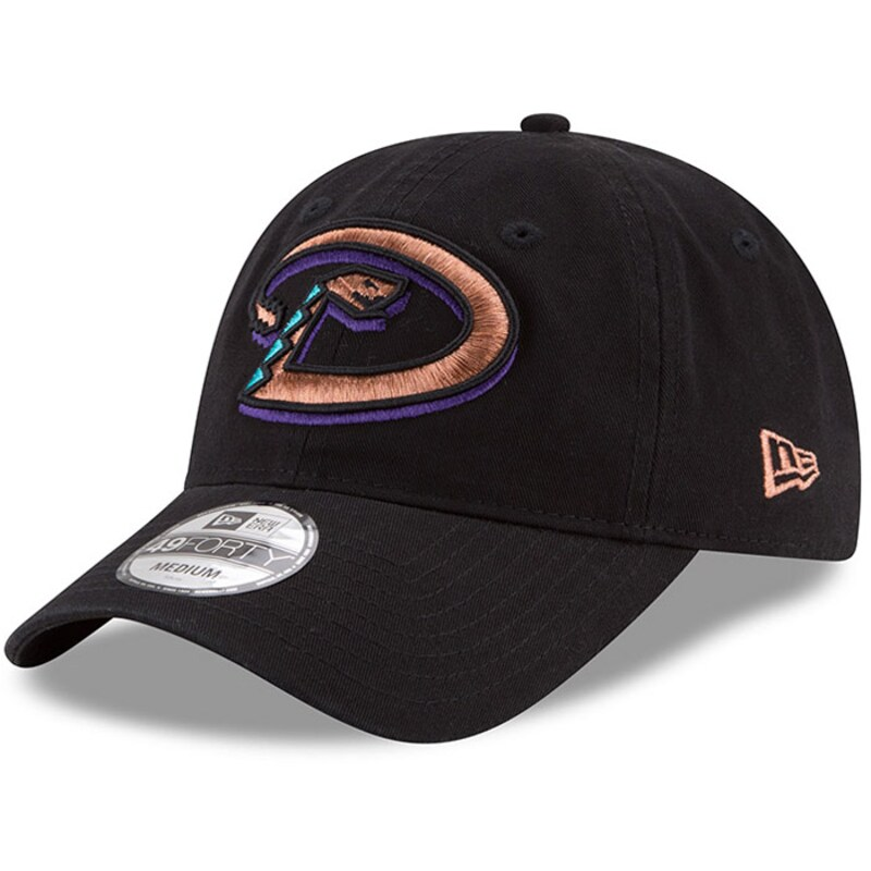 Arizona Diamondbacks New Era 1998 Cooperstown Collection Core 49FORTY Fitted Hat - Black