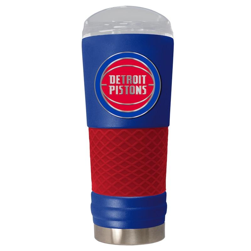 Detroit Pistons 24oz. Powder Coated Draft Travel Mug - Blue
