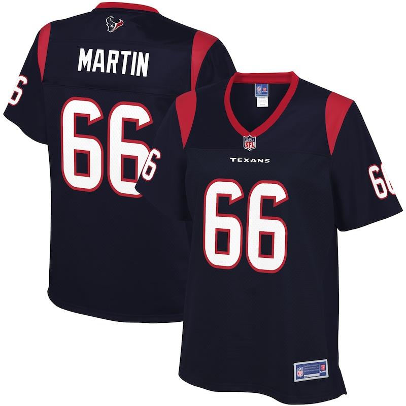 Nick Martin Houston Texans NFL Pro Line Women's Player Jersey - Navy