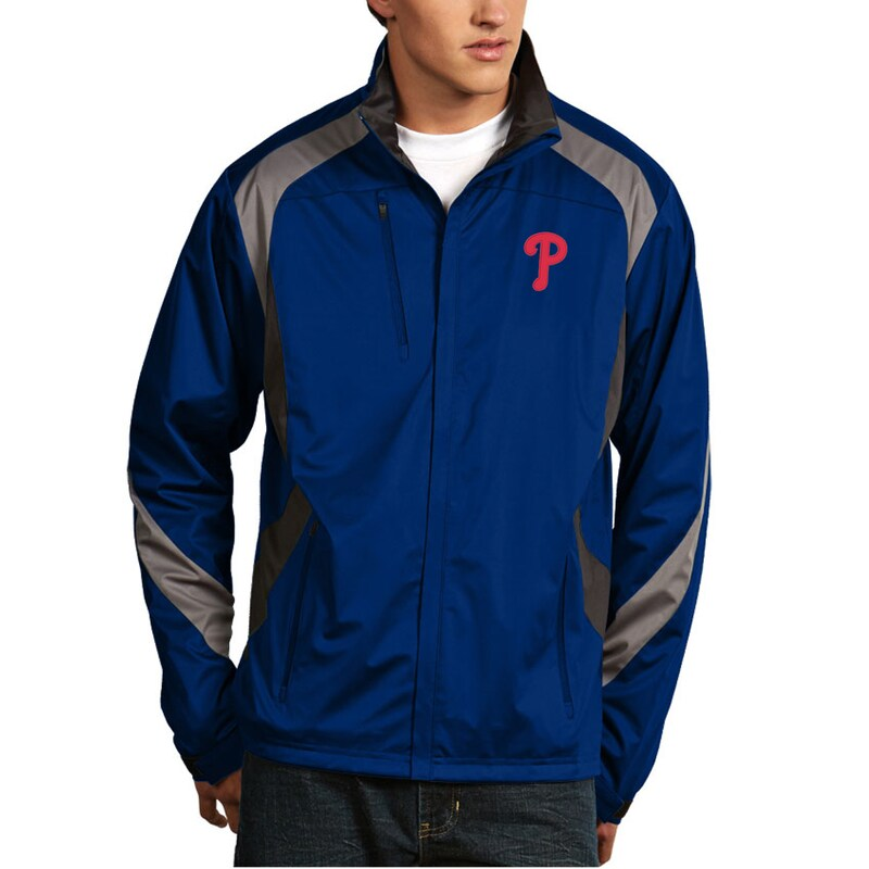 Philadelphia Phillies Antigua Tempest Full-Zip Jacket - Royal