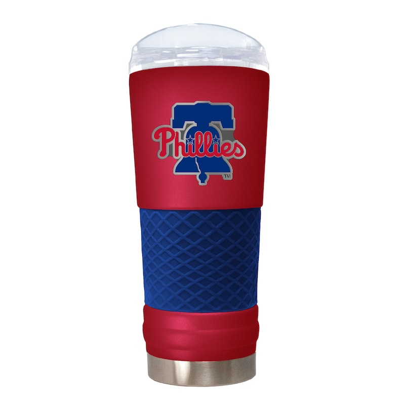 Philadelphia Phillies 24oz. Powder Coated Draft Travel Mug - Red