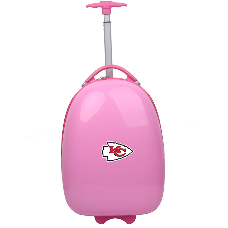 Kansas City Chiefs Youth 18'' Luggage Pod - Pink