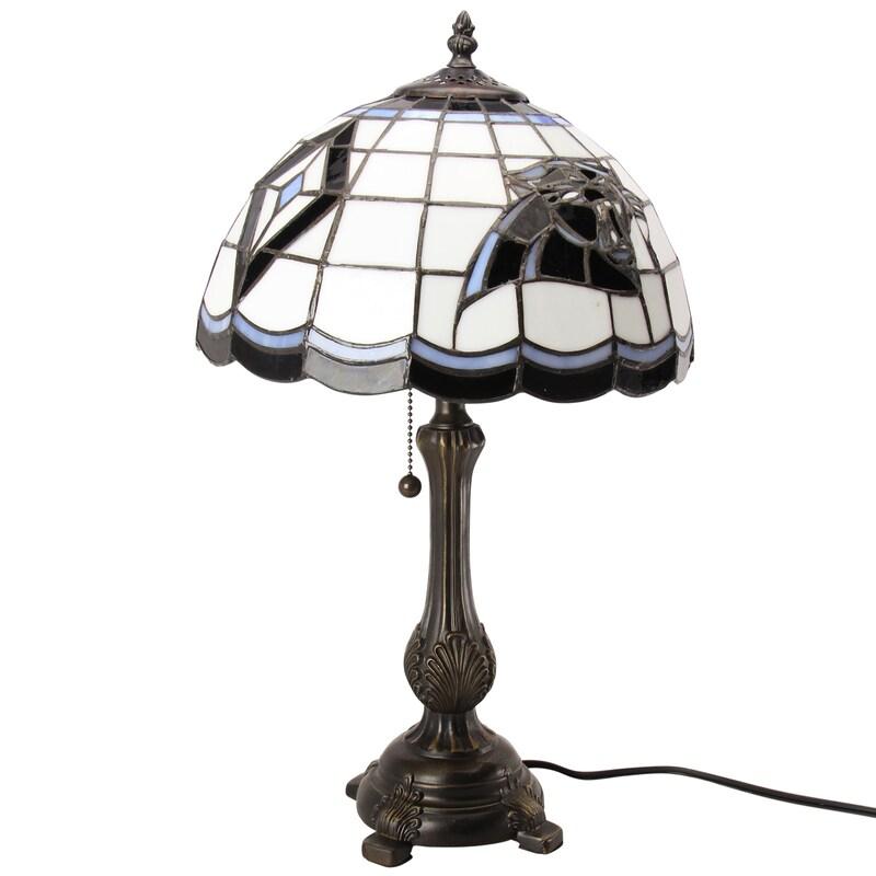 Carolina Panthers Tiffany Table Lamp