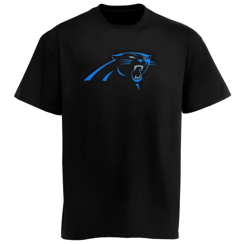 Carolina Panthers Youth Team Logo T-Shirt - Black