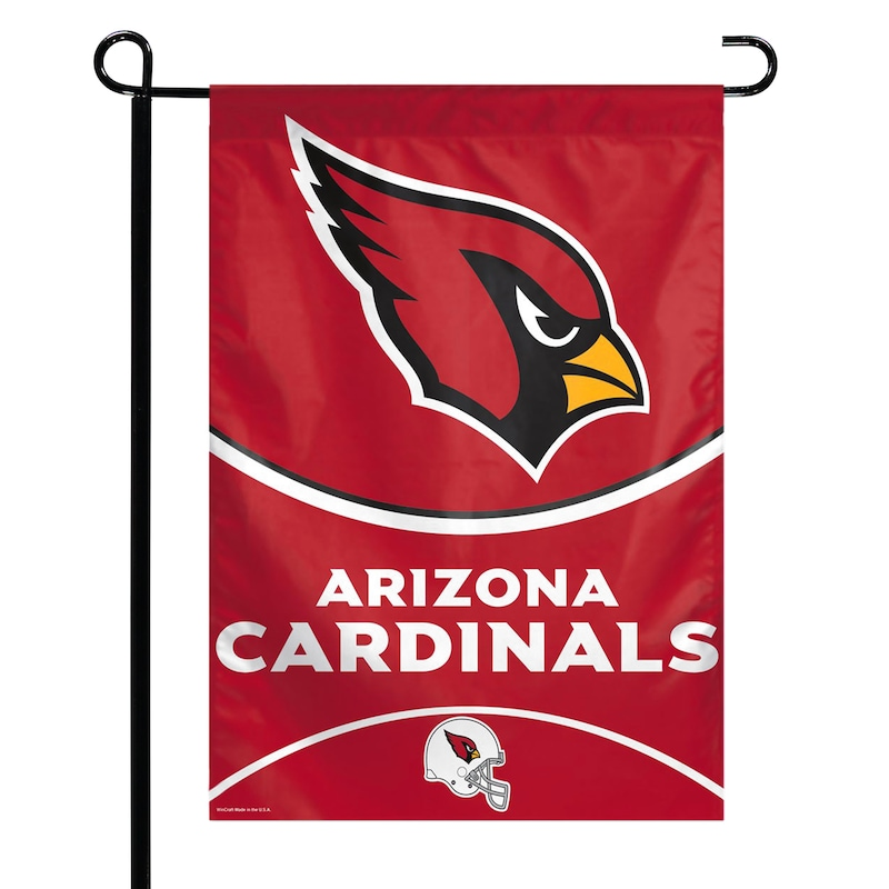"Arizona Cardinals WinCraft 27"" x 37"" Single-Sided Vertical Banner Flag"