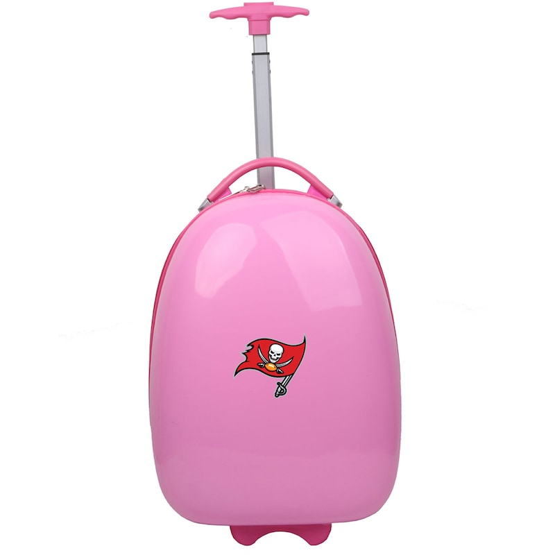 Tampa Bay Buccaneers Youth 18'' Luggage Pod - Pink