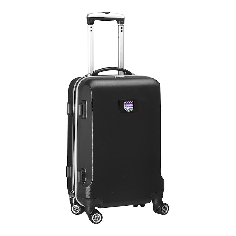 """Sacramento Kings 21"""" 8-Wheel Hardcase Spinner Carry-On - Black"""