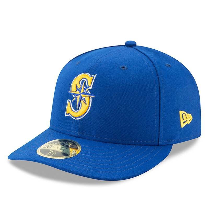 Seattle Mariners New Era Alternate 2 Authentic Collection On-Field Low Profile 59FIFTY Fitted Hat - Royal