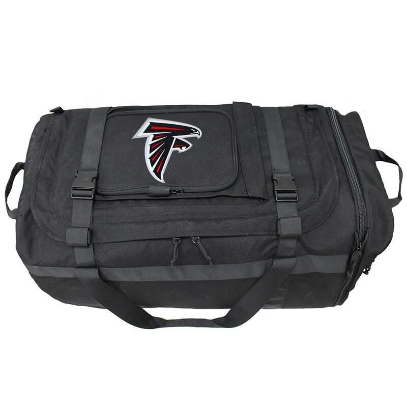 Atlanta Falcons Military Duffel Bag - Black