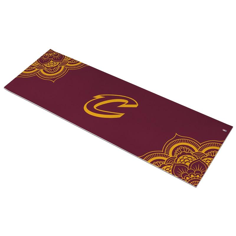 Cleveland Cavaliers Color Design Yoga Mat