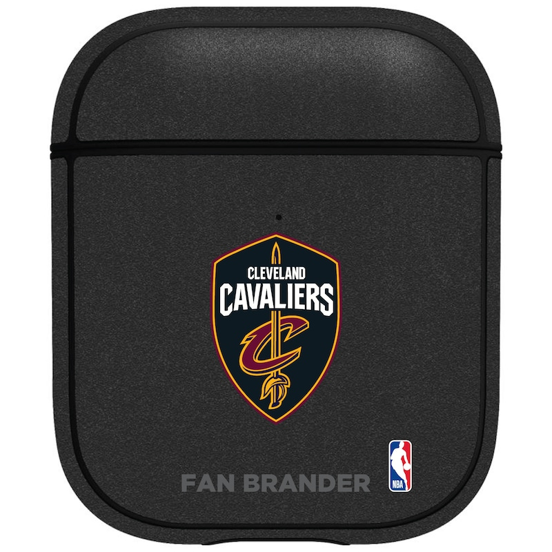 Cleveland Cavaliers Air Pods Metallic Case - Black