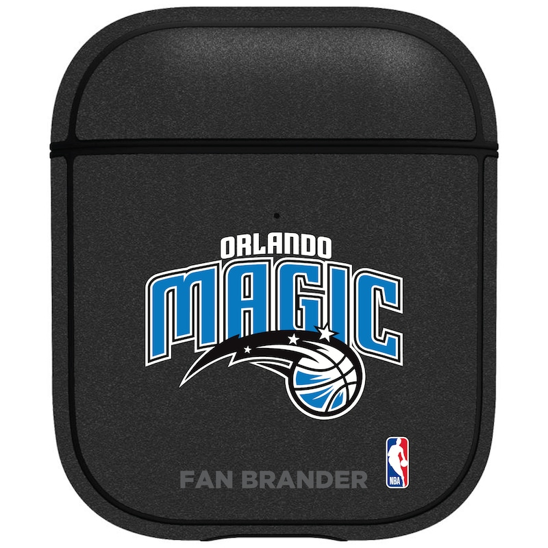 Orlando Magic Air Pods Metallic Case - Black