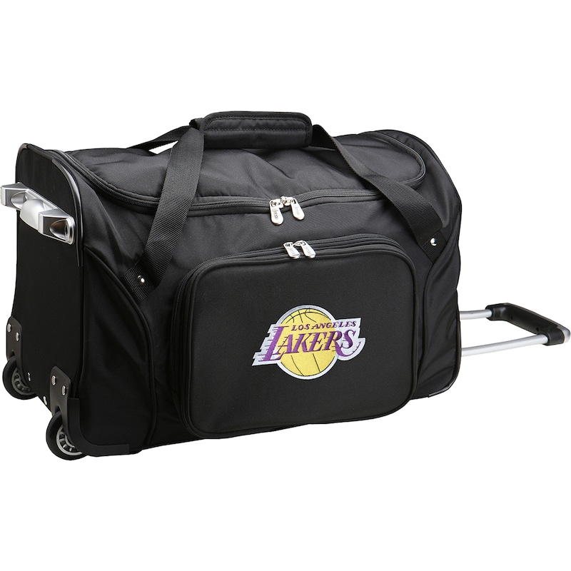 "Los Angeles Lakers 22"" 2-Wheeled Duffel Bag - Black"