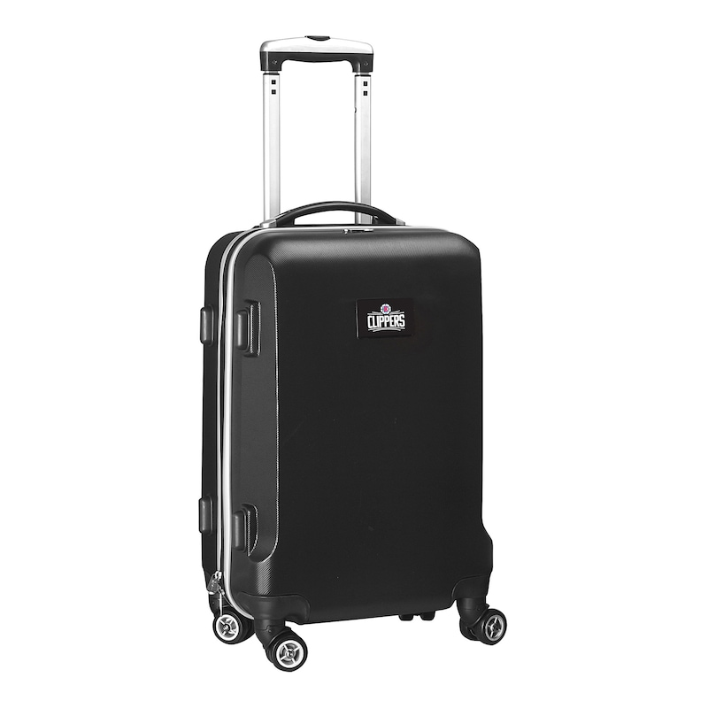 """LA Clippers 21"""" 8-Wheel Hardcase Spinner Carry-On - Black"""