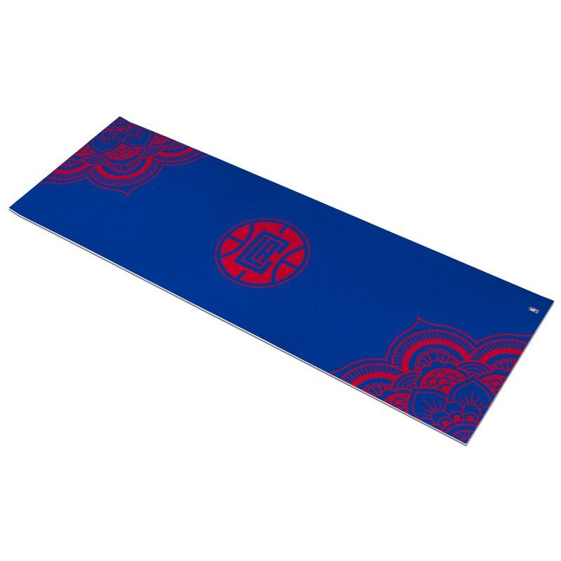 LA Clippers Color Design Yoga Mat